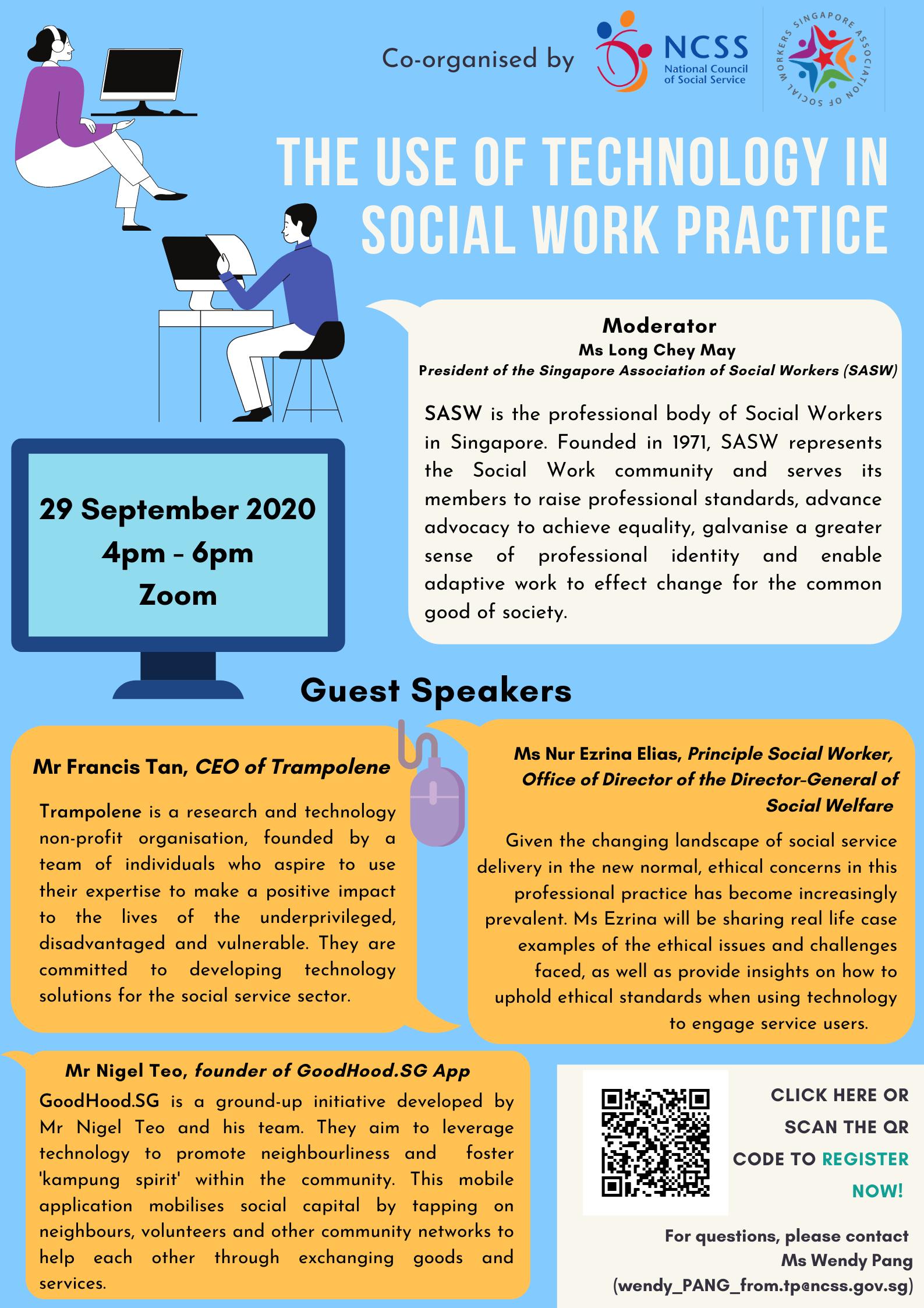 [Webinar] Digitalisation: Applications for Social Work Practice