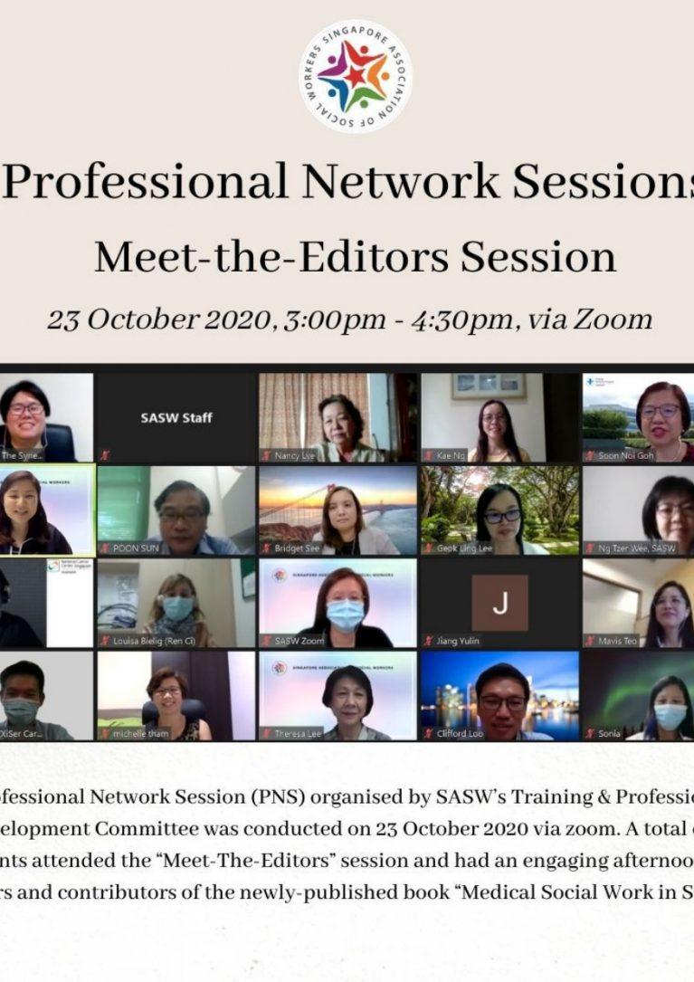 PNS- Meet the Editors Session
